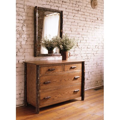 Berea 4 Drawer Dresser with Mirror