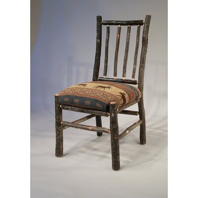 Berea Rail Back Side Chair Upholstery: Yukon