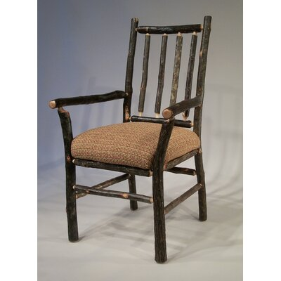 Berea Rail Back Arm Chair Upholstery: Bremen