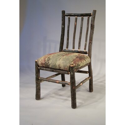 Berea Rail Back Side Chair Upholstery: Serenity