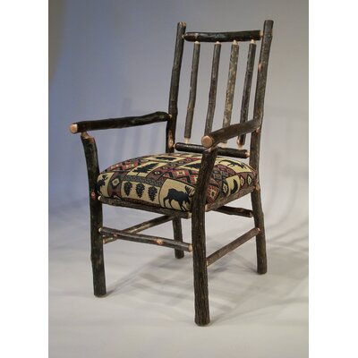Berea Rail Back Arm Chair Upholstery: Yellowstone