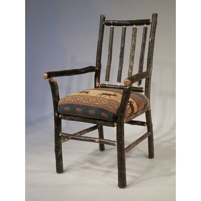 Berea Rail Back Arm Chair Upholstery: Yukon