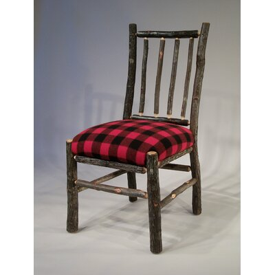 Berea Rail Back Side Chair Upholstery: Buffalo Check