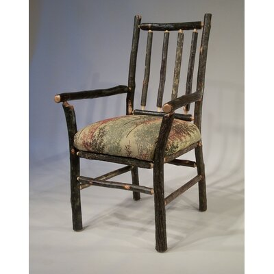 Berea Rail Back Arm Chair Upholstery: Serenity