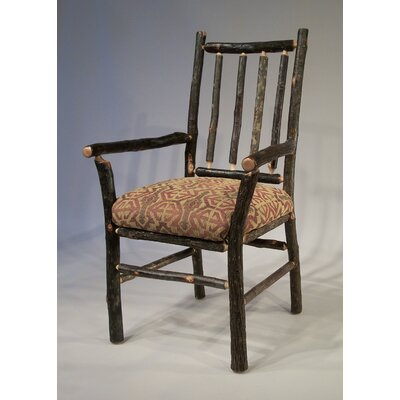 Berea Rail Back Arm Chair Upholstery: Cranston