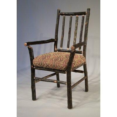 Berea Rail Back Arm Chair Upholstery: Cranston