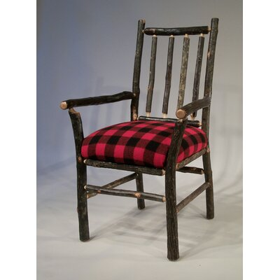 Berea Rail Back Arm Chair Upholstery: Buffalo Check