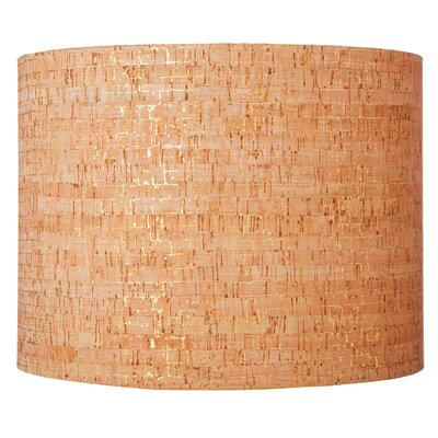 16 Natural Cork Drum Shade Image