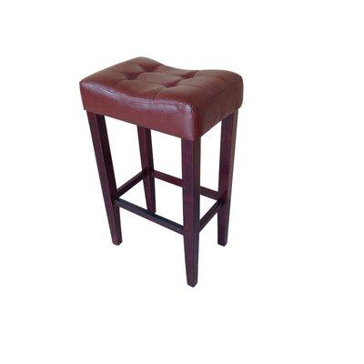 Marlton 30 Bar Stool (Set of 2) Upholstery: Brown