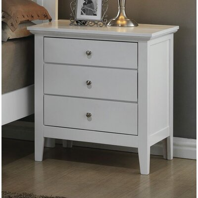 Brooks 3 Drawer Nightstand