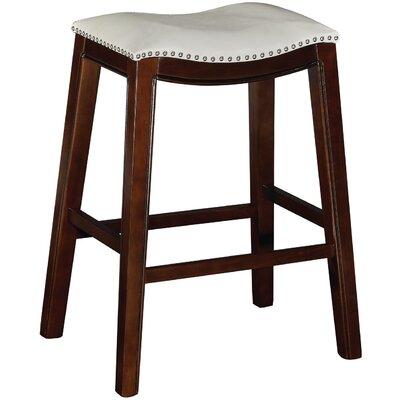 Bella 30 Bar Stool (Set of 2) Upholstery: Tan