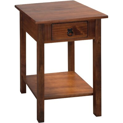 Stolik End Table Finish: Tuscan