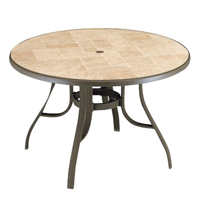 Toscana Dining Table Finish: Bronze Mist
