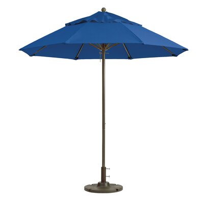 7.5 Windmaster Market Umbrella Fabric: Pacific Blue