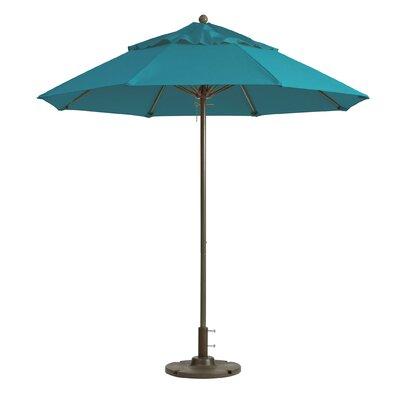 9 Windmaster Market Umbrella Fabric: Turquoise