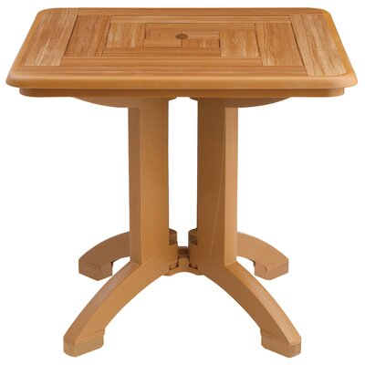 Atlantis Dining Table (Set of 2) Finish: Teakwood