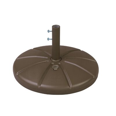 Resin Free-Standing Umbrella Base Finish: Sandstone
