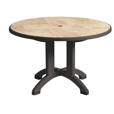Siena Dining Table Finish: Charcoal