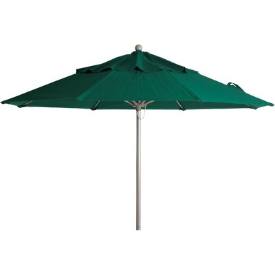 9 Windmaster Market Umbrella Fabric: Forest Green