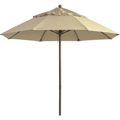 9 Windmaster Market Umbrella Fabric: Khaki