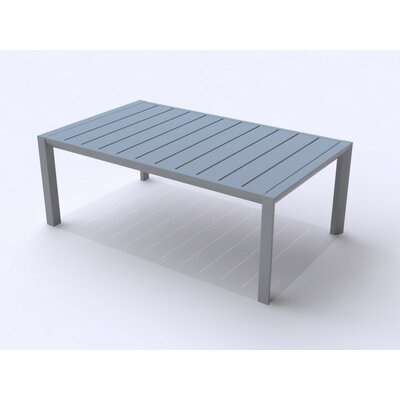 Leighann Coffee Table Finish: Platinum Gray