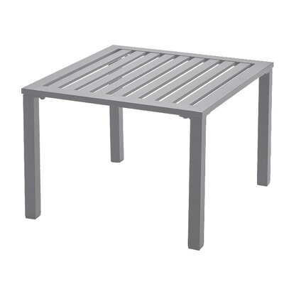 Leighann Side Table Finish: Platinum Gray