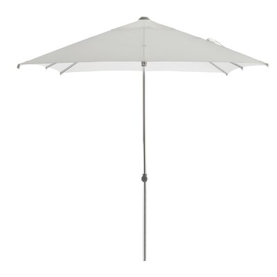 Leighann Aluminum Round Market Umbrella Color: White