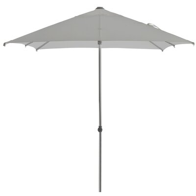 Leighann Aluminum Round Market Umbrella Color: Gray