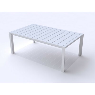 Leighann Coffee Table Color: Glacier White