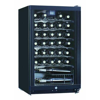 Midea 35 Bottle Single Zone Freestanding Wine Refrigerator WR 144-35
