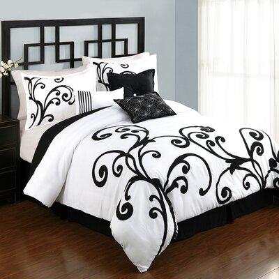 Emmerson 7 Piece Comforter Set Size: King