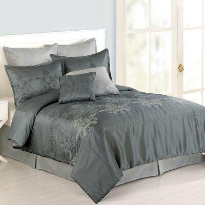 Brianna 8 Piece Comforter Set Size: Queen