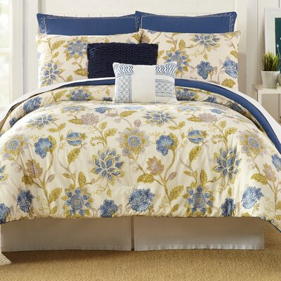 Monterey 7 Piece Comforter Set Size: Queen