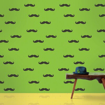 Mustache Wallpaper Size: Full Kit