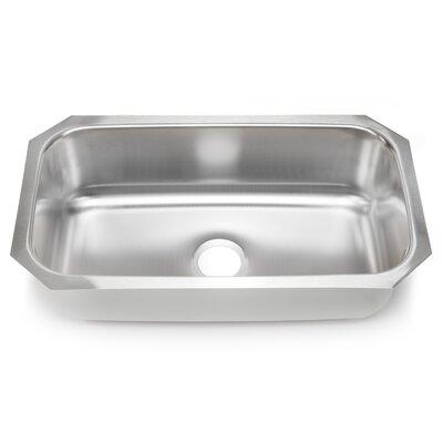 30 x 17.75 Single Bowl Kitchen Sink