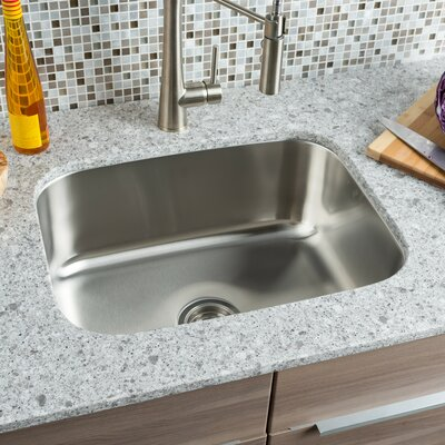 Classic Chef 23 x 17.5 Single Bowl Undermount Kitchen Sink