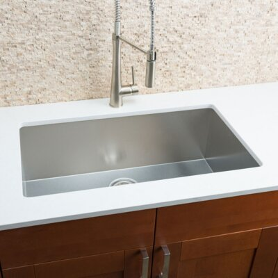 Chef Series 32 x 19 Single Bowl Undermount Kitchen Sink