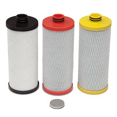 3 Cartridge 600 Gallon Under Sink Replacement Filter