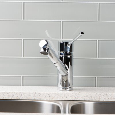 Deck Mounted Single Handle Pull Out Kitchen Faucet Finish: Chrome