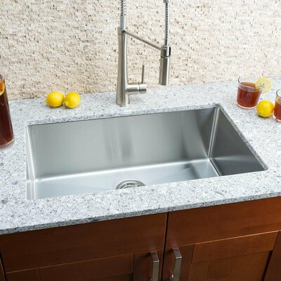 Chef Series 30 x 18 Single Bowl Undermount Kitchen Sink
