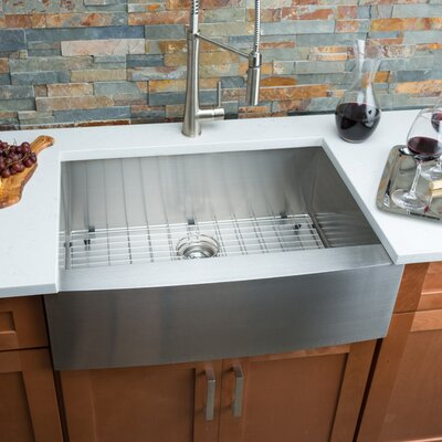 30 x 18 Single Bowl Farmhouse Kitchen Sink