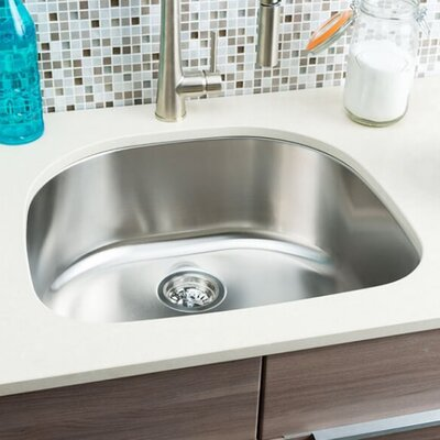 Classic Chef 23.38 x 21 Single Bowl Undermount Kitchen Sink