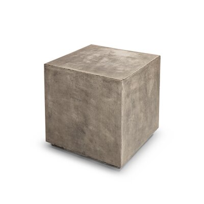 Laurinda End Table Color: Natural Charcoal