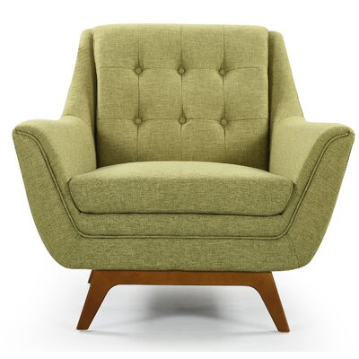 Emilie Armchair Upholstery: Green