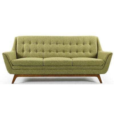 Emilie Sofa Upholstery: Green