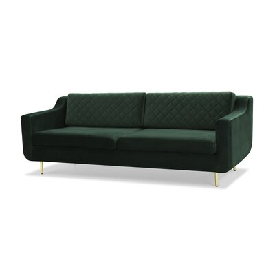Depuy Bailor Sofa Upholstery: Dark Green