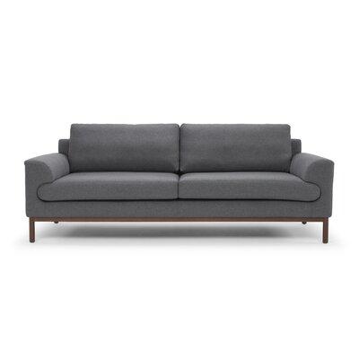 Depuy Sofa Upholstery: Dark Gray