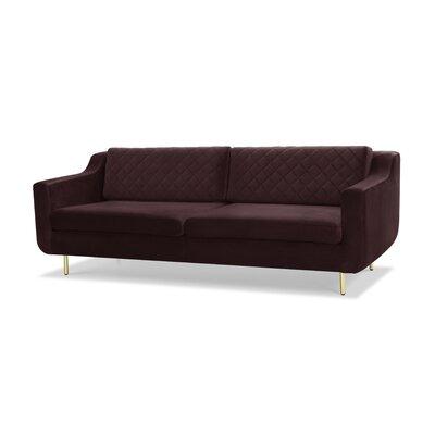 Depuy Bailor Sofa Upholstery: Plum Purple