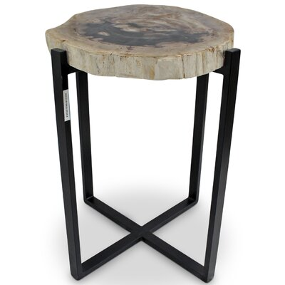 Plympton End Table Color: Natural Dark