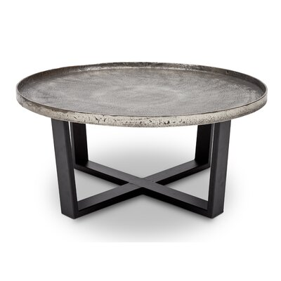 Raisa Coffee Table Color: Silver